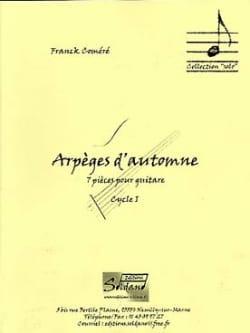 Franck Coméré - Arpeggios of Autumn - Sheet Music - di-arezzo.com