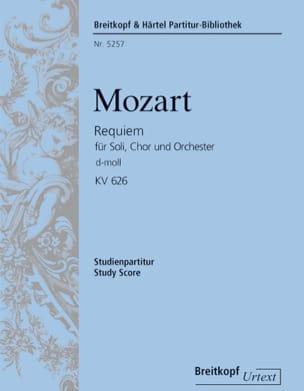 Requiem, Kv 626 - MOZART - Partition - Petit format - laflutedepan.com
