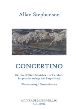 Allan Stephenson - Concertino 1979 - Sheet Music - di-arezzo.co.uk