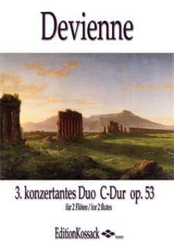François Devienne - Duo Concertant en Ut Maj. Op.53 n°3 - Partition - di-arezzo.fr