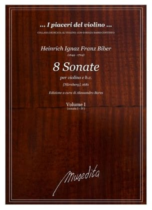8 Sonate Nürnberger 1681 - BIBER - Partition - laflutedepan.com