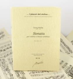 Sonata Ms, Praha, 1677 - Georg Muffat - Partition - laflutedepan.com