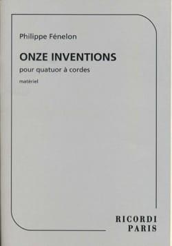 Philippe Fénelon - Eleven Inventions 1998, revised 2009 - Sheet Music - di-arezzo.com
