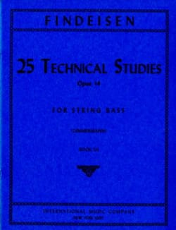 Théodor Findesein - 25 Technical Studies Op.14 Vol.3 - Partition - di-arezzo.fr
