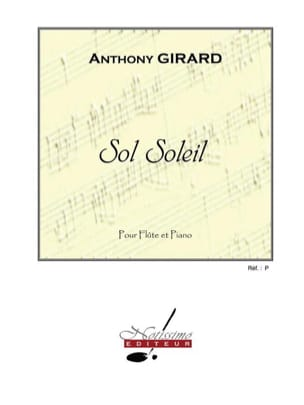 Sol Soleil Anthony Girard Partition Flûte traversière - laflutedepan