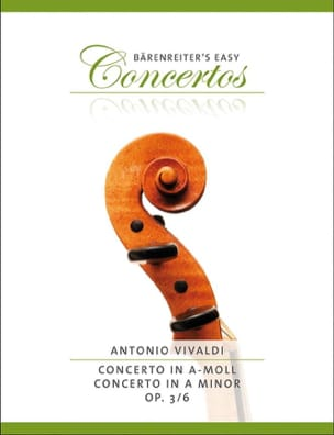 VIVALDI - Concerto in the Minor Op.3 N ° 6 - Sheet Music - di-arezzo.co.uk