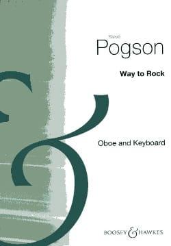 Way To Rock Steve Pogson Partition Hautbois - laflutedepan