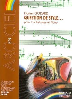 Question de Style.... Benjamin Godard Partition laflutedepan