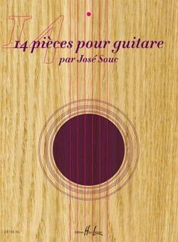 José Souc - 14 Pièces Pour Guitare - Partition - di-arezzo.fr