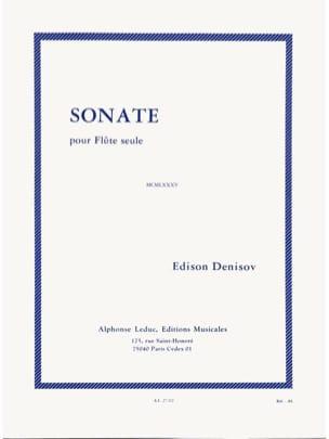 Sonate – Flûte seule - Edison Denisov - Partition - laflutedepan.com