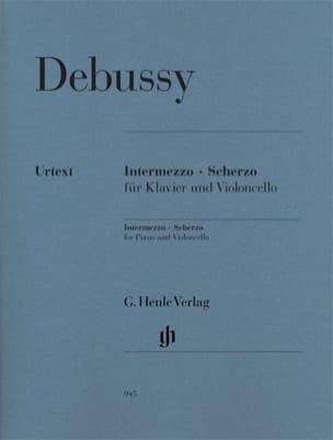 DEBUSSY - Intermezzo - Scherzo - Sheet Music - di-arezzo.com