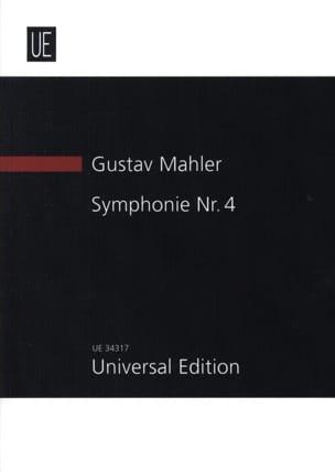 Gustav Mahler - Symphonie N° 4 - Partition - di-arezzo.fr