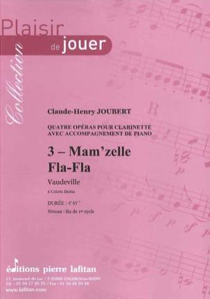 Claude-Henry Joubert - Mam'zelle Fla-Fla - Partition - di-arezzo.fr