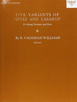 Five Variants on Dives and Lazarus - Study score laflutedepan