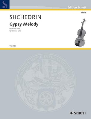 Rodion Shchedrin - Ggypsy Melody - Sheet Music - di-arezzo.co.uk
