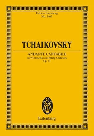 Andante Cantabile Op.11 - TCHAIKOVSKY - Partition - laflutedepan.com