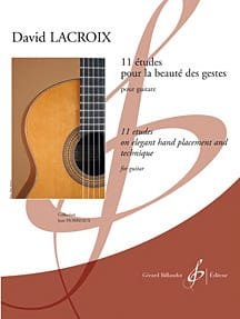 David Lacroix - 11 Studies For the Beauty of Gestures - Sheet Music - di-arezzo.co.uk