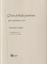 Anatoli Liadov - 2 Pastoral Preludes - Sheet Music - di-arezzo.co.uk