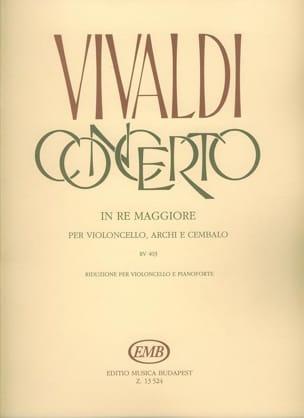 Concerto En Ré Maj. - Rv.403 VIVALDI Partition laflutedepan