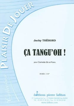 Ca Tangu' Oh ! - Jacky Therond - Partition - laflutedepan.com