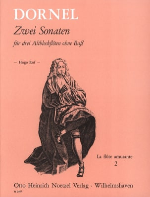 Antoine Dornel - 2 Sonaten D-Moll B-Dur - Partitura - di-arezzo.it