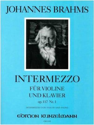 Intermezzo Op.117 N°1 - BRAHMS - Partition - Violon - laflutedepan.com