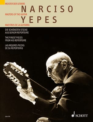 Narciso Yepes - The most beautiful parts of its directory - Sheet Music - di-arezzo.co.uk