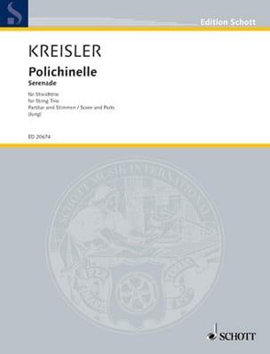 Fritz Kreisler - Polichinelle - String Trio - Sheet Music - di-arezzo.com
