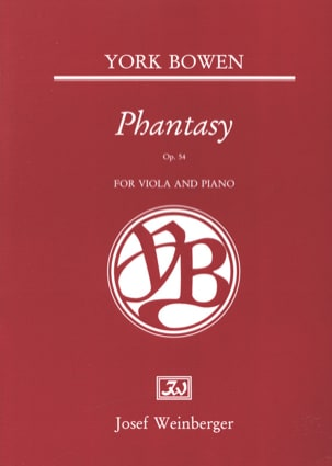 Edwin York Bowen - Phantasy Op. 54 - Partition - di-arezzo.com