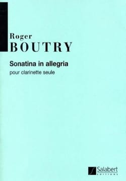 Sonatina In Allegria - Roger Boutry - Partition - laflutedepan.com