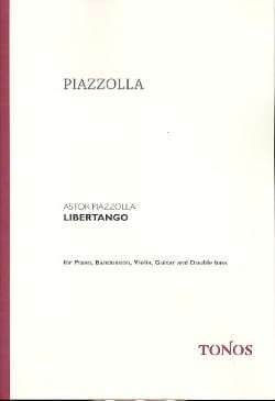 Libertango Astor Piazzolla Partition Grand format - laflutedepan