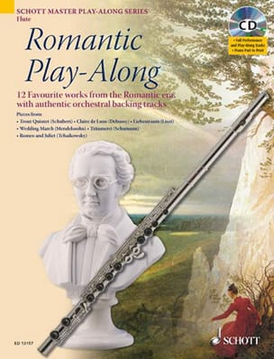Romantic Play-Along For Flute Partition laflutedepan