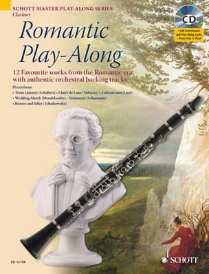 Romantic Play-Along For Clarinet - Sheet Music - di-arezzo.com