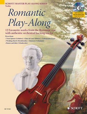 Romantic Play-Along For Violon - Partition - laflutedepan.com