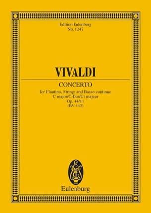 Antonio Vivaldi - Concerto C-Dur - Partition - di-arezzo.fr