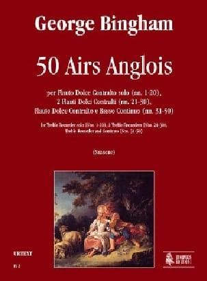 Georges Bingham - 50 Airs Anglois - Partition - di-arezzo.fr