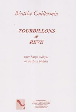 Tourbillons et Rêve Béatrice Guillermin Partition Harpe - laflutedepan