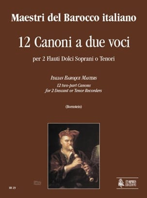 - 12 Canoni A Due Voci - Sheet Music - di-arezzo.co.uk
