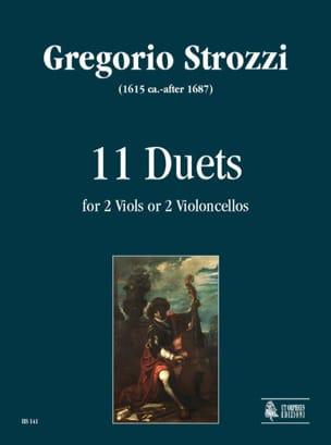Gregorio Strozzi - 11 Duets - Sheet Music - di-arezzo.com