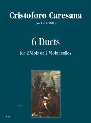 Cristoforo Caresana - 6 Duets - Partition - di-arezzo.fr