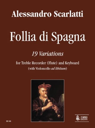 Domenico Scarlatti - Follia Di Spagna - Partition - di-arezzo.fr