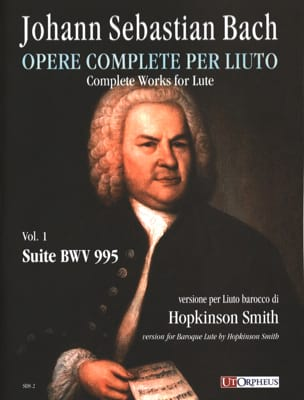 BACH - BWV 995 Suite - Partitura - di-arezzo.it
