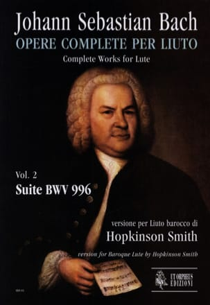 BACH - BWV 996 Suite - Sheet Music - di-arezzo.com