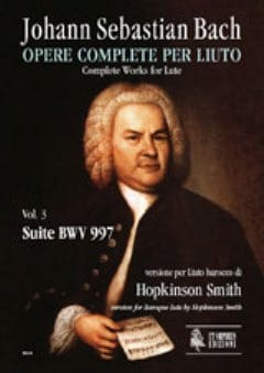 BACH - BWV 997 Suite - Sheet Music - di-arezzo.co.uk