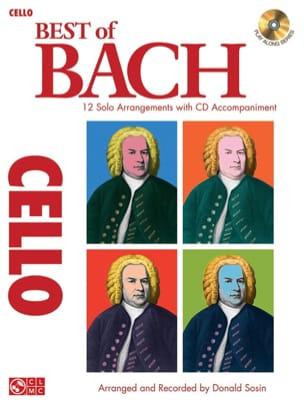 Best of Bach - Violoncelle - Donald Sosin - laflutedepan.com