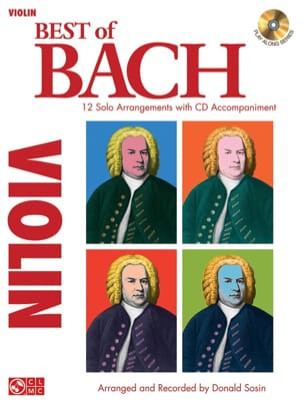 Donald Sosin - Best Of Bach - Violin - Sheet Music - di-arezzo.com