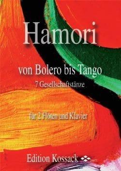 Von Bolero Bis Tango - Thomas Hamori - Partition - laflutedepan.com