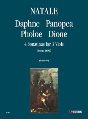 Pompeo Natale - 4 Sonatines 1681 - Sheet Music - di-arezzo.com
