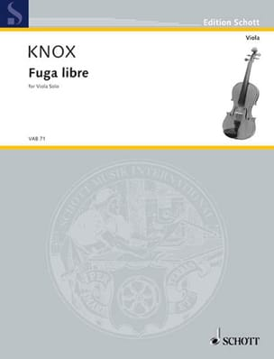 Garth Knox - Free Fuga - Sheet Music - di-arezzo.co.uk