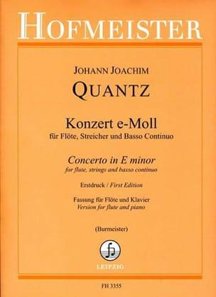 Concerto En Mi Min. - Qv 5:113 - laflutedepan.com